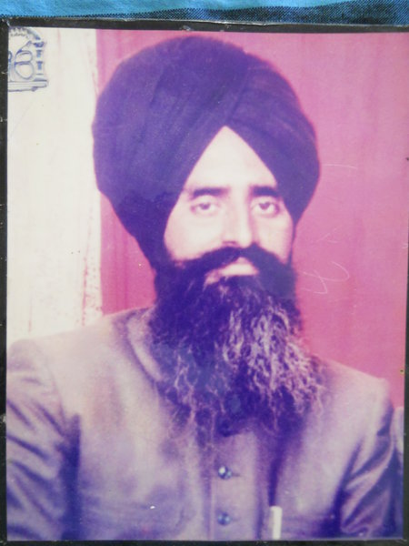 Photo of Nirmal Singh, victim of extrajudicial execution between August 1, 1991 and August 31,  1991, in Dharamkot, by Punjab Police