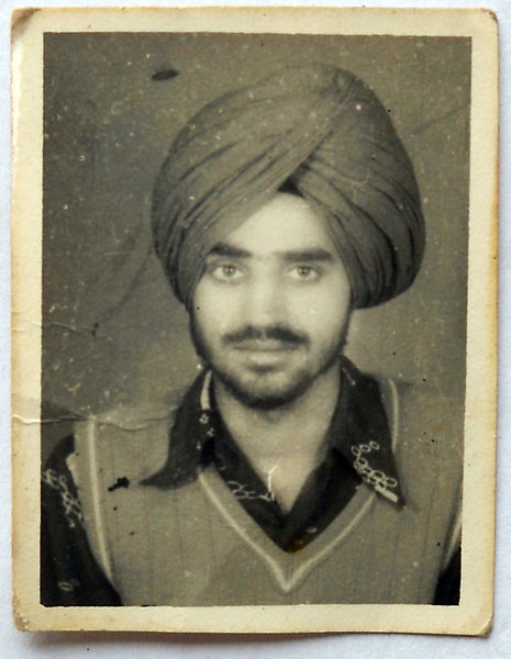 Photo of Partap Singh, victim of extrajudicial execution, date unknownCentral Reserve Police Force