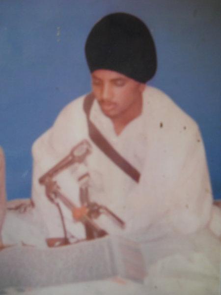 Photo of Sukhdev Singh, victim of extrajudicial execution on April 28, 1993, in Tarn Taran, Kairon, by Punjab Police