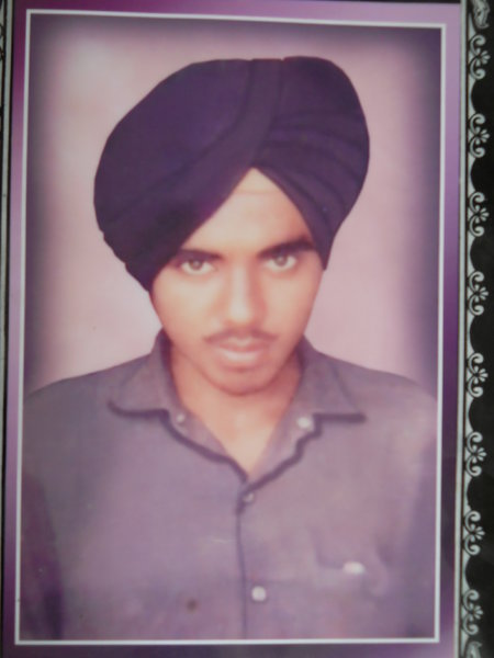 Photo of Nirmal Singh, victim of extrajudicial execution between July 27, 1992 and July 28,  1992, in Verowal, by Punjab Police