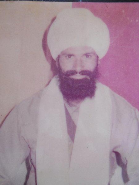 Photo of Sewa Singh, victim of extrajudicial execution on December 02, 1992, in Mattewal, Chogawan, by Punjab Police