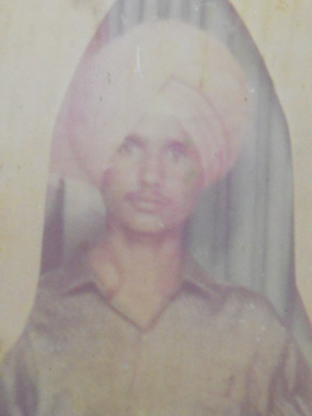 Photo of Pargat Singh, victim of extrajudicial execution between July 20, 1992 and July 28,  1992, in Tarn Taran, by Punjab Police