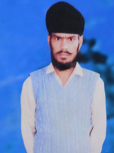 Photo of Sukhdev Singh, victim of extrajudicial execution on May 25, 1991, in Urmar Tanda, by Punjab Police