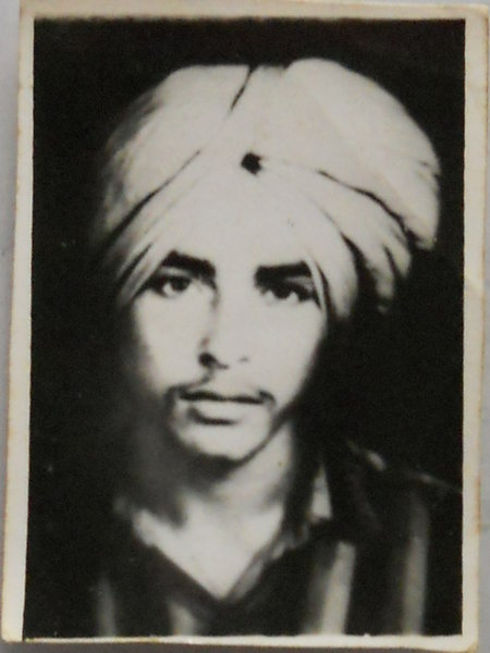 Photo of Satnam Singh,  disappeared on March 17, 1991, in Beas,  by Punjab Police