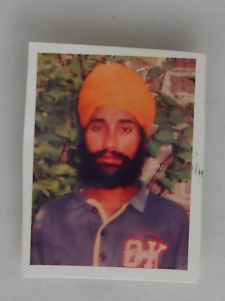 Photo of Charanjit Singh, victim of extrajudicial execution on June 12, 1990Punjab Police; Central Reserve Police Force