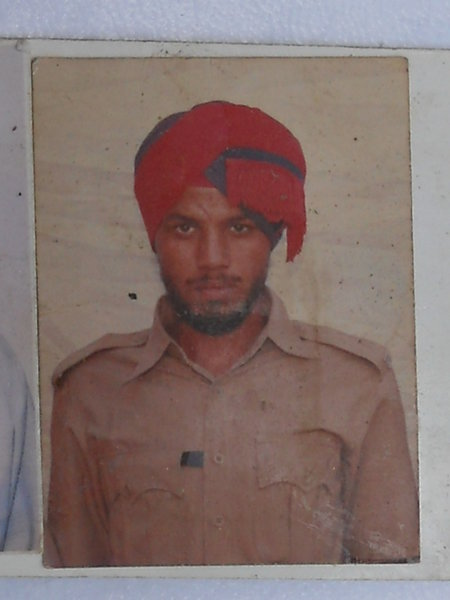 Photo of Harbinder Singh, victim of extrajudicial execution on September 07, 1993Punjab Police