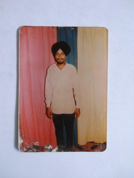 Photo of Gurdev Singh, victim of extrajudicial execution on October 30, 1989Punjab Police; Central Reserve Police Force