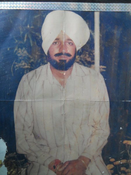 Photo of Harjinder Singh, victim of extrajudicial execution on January 13, 1988Punjab Police; Central Reserve Police Force