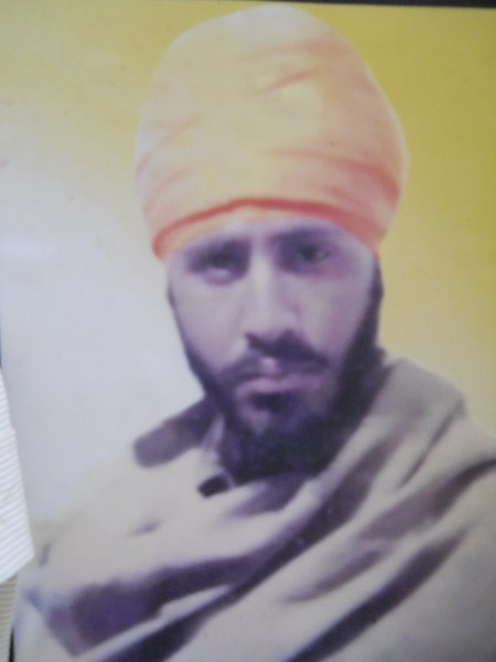 Photo of Surinder Singh, victim of extrajudicial execution on December 22, 1988, in Kathu Nangal, by Punjab Police