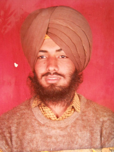 Photo of Hardyal Singh, victim of extrajudicial execution on April 19, 1992, in Beas, by Punjab Police