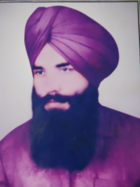 Photo of Avtar Singh, victim of extrajudicial execution on May 22, 1987, in Goindwal, by Punjab Police