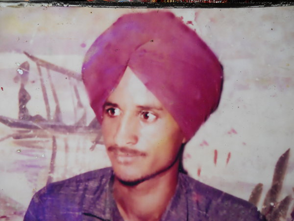 Photo of Punjab Singh, victim of extrajudicial execution between October 12, 1990 and October 13,  1990Punjab Police