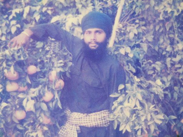 Photo of Sarwan Singh, victim of extrajudicial execution on September 25, 1992, in Raja Sansi, by Punjab Police
