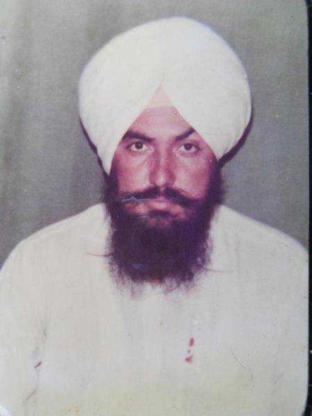 Photo of Gurpreet Singh, victim of extrajudicial execution on December 31, 1992, in Tarn Taran, by Punjab Police