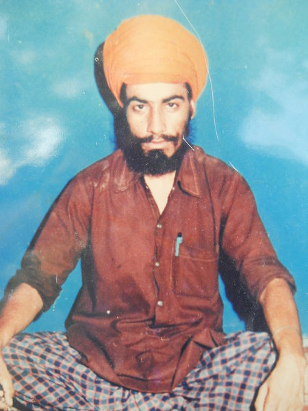 Photo of Sohan Singh, victim of extrajudicial execution on September 15, 1987, in Amritsar, by Punjab Police