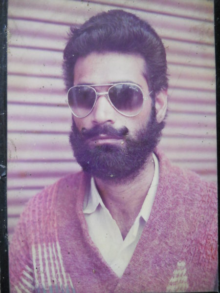 Photo of Gurmej Singh, victim of extrajudicial execution on January 22, 1994, in Amritsar,  by Punjab Police; Central Reserve Police Force, in Amritsar, by Punjab Police