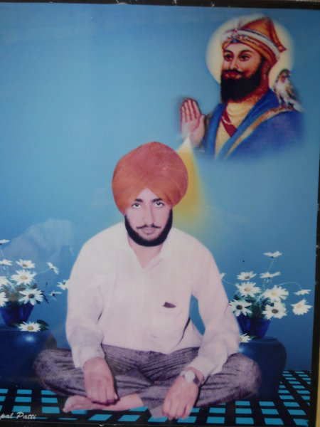 Photo of Jaspal Singh, victim of extrajudicial execution on July 13, 1991, in Patti, by Punjab Police