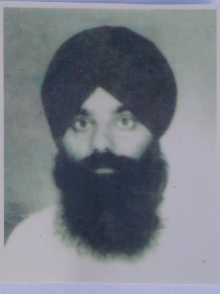 Photo of Gyan Singh, victim of extrajudicial execution on June 9, 1984 by Central Reserve Police ForceCentral Reserve Police Force