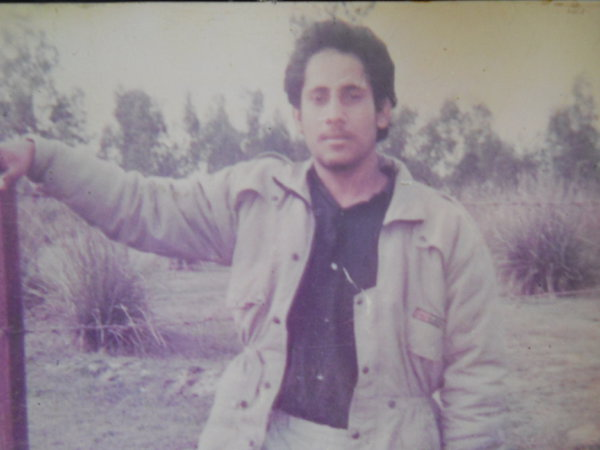 Photo of Maninder Singh, victim of extrajudicial execution on September 04, 1990, in Verka, by Punjab Police