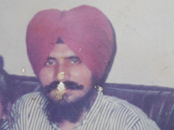Photo of Manjeet Singh, victim of extrajudicial execution on July 03, 1991Punjab Police