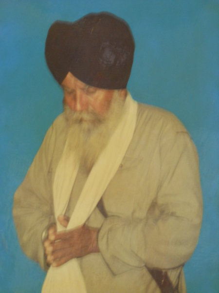 Photo of Channan Singh, victim of extrajudicial execution on March 12, 1993, in Abohar, by Punjab Police