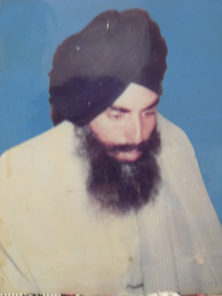 Photo of Angrej Singh,  disappeared on March 12, 1993, in Abohar,  by Punjab Police