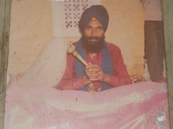 Photo of Lakhwinder Singh, victim of extrajudicial execution on September 18, 1991, in Amritsar, by Punjab Police