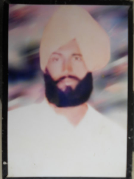 Photo of Mahal Singh, victim of extrajudicial execution on August 14, 1989 by Central Reserve Police ForceCentral Reserve Police Force