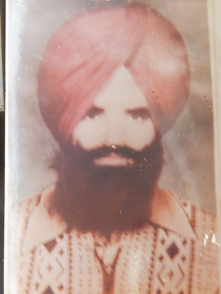 Photo of Baldev Singh, victim of extrajudicial execution on February 28, 1988, in 29th Battalion CRPF Camp,  by Central Reserve Police Force, in 29th Battalion CRPF Camp, by Central Reserve Police Force