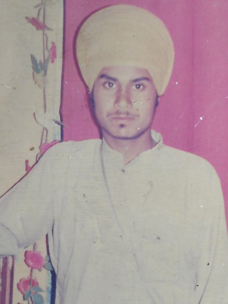 Photo of Avtar Singh, victim of extrajudicial execution on July 11, 1989, in Bhikhiwind, Khalra, by Punjab Police; Central Reserve Police Force
