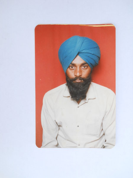 Photo of Sahib Singh, victim of extrajudicial execution on July 27, 1990, in Amritsar, by Punjab Police