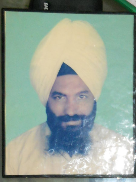 Photo of Amrik Singh, victim of extrajudicial execution on August 05, 1991, in Amritsar, by Punjab Police