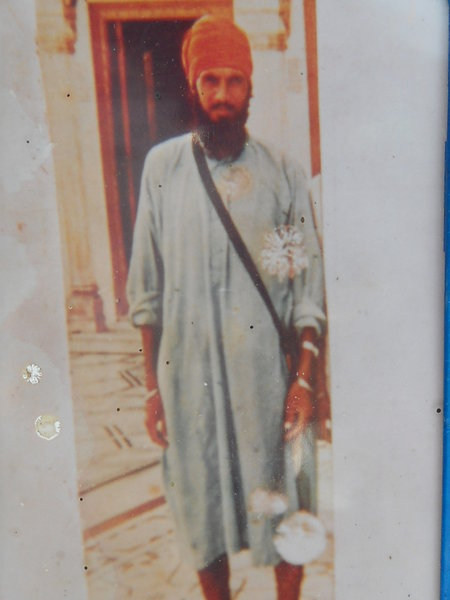 Photo of Charn Singh, victim of extrajudicial execution between June 25, 1986 and June 30,  1986Punjab Police; Central Reserve Police Force