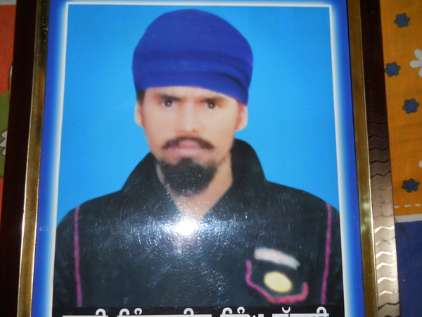 Photo of Inderjit Singh, victim of extrajudicial execution between March 20, 1989 and March 21,  1989 by