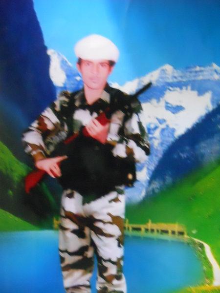 Photo of Jasbir Singh, victim of extrajudicial execution on August 24, 1992, in Tarn Taran, Gharyala, Patti, Valtoha, Bhikhiwind,  by Punjab Police; Central Reserve Police Force, in Tarn Taran, Patti, by Punjab Police