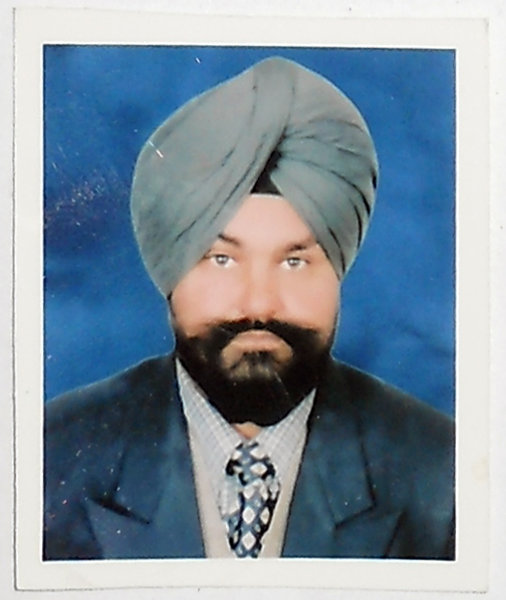 Photo of Baldev Singh, victim of extrajudicial execution between September 16, 1985 and October 15,  1985, in Fatehabad,  by Central Reserve Police Force, in Sarhali Kalan, by Punjab Police