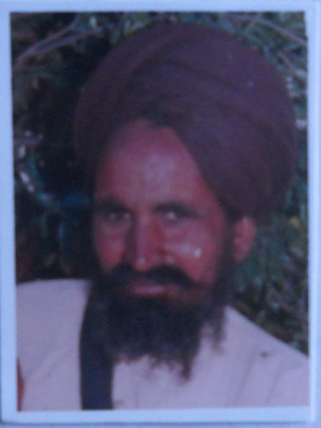 Photo of Taar Singh, victim of extrajudicial execution between November 1, 1994 and November 30,  1994, in Patti, Sabhrai, Kairon, by Punjab Police
