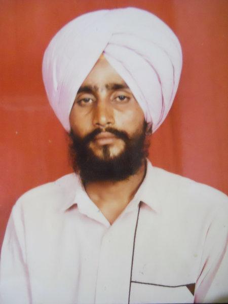 Photo of Davinder Singh, victim of extrajudicial execution on July 30, 1990Punjab Police