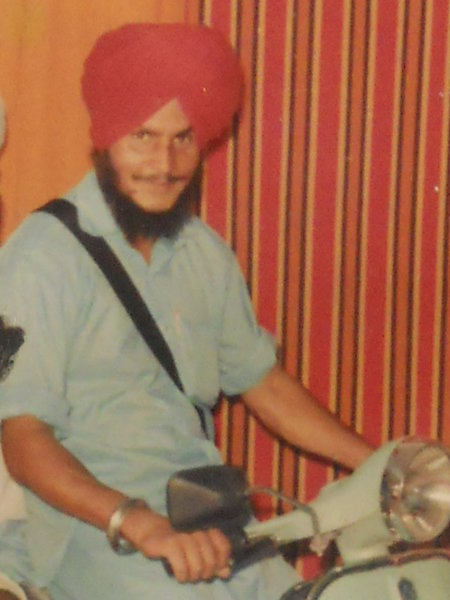 Photo of Ajit Singh, victim of extrajudicial execution between June 16, 1989 and June 17,  1989, in Majitha CRPF Post, by Central Reserve Police Force