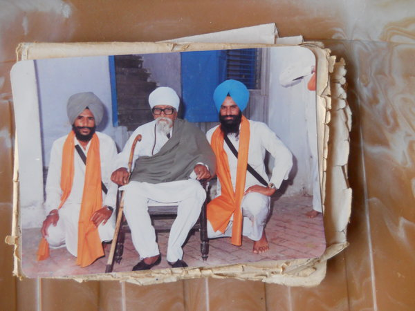 Photo of Gurdyal Singh, victim of extrajudicial execution on June 18, 1988Central Reserve Police Force