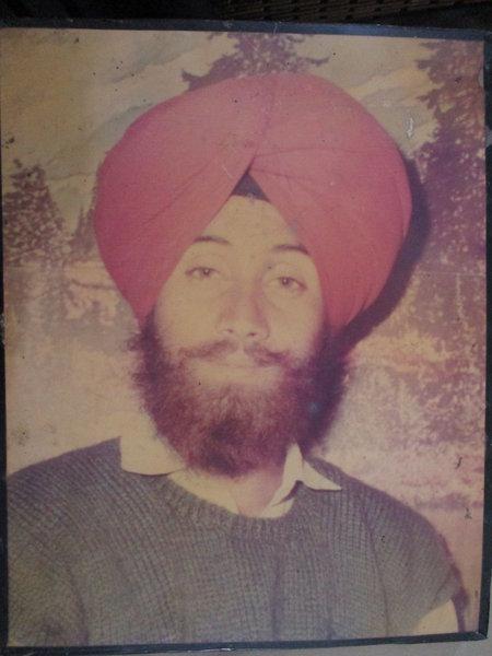 Photo of Nirmal Singh, victim of extrajudicial execution between December 13, 1993 and December 14,  1993Punjab Police