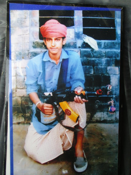 Photo of Gurvail Singh, victim of extrajudicial execution on October 22, 1990, in Tarn Taran,  by Punjab Police; Central Reserve Police Force; Army, in Tarn Taran, by Punjab Police; Central Reserve Police Force; Army
