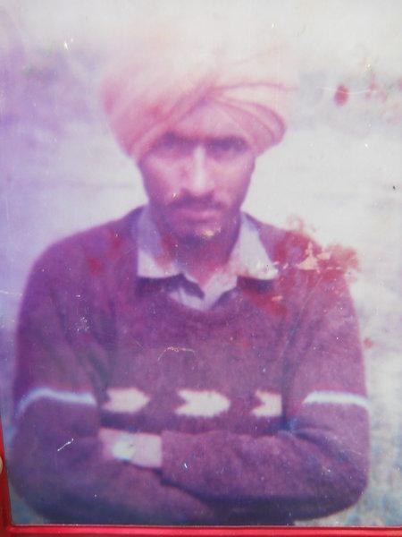 Photo of Sohan Singh, victim of extrajudicial execution on January 29, 1993, in Jaitu, by Punjab Police