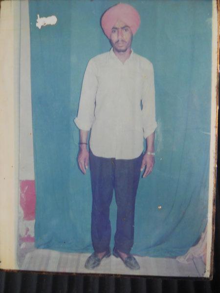Photo of Kuldeep Singh,  disappeared on January 30, 1993, in Jaitu,  by Punjab Police