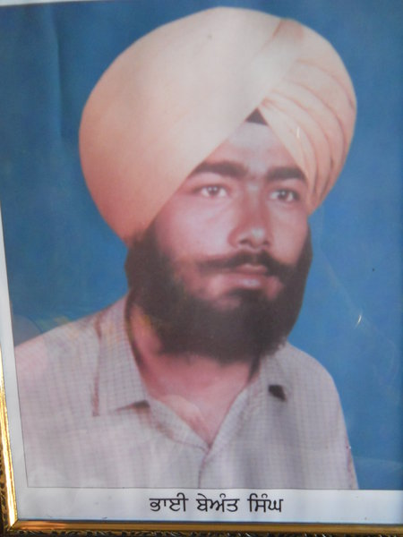 Photo of Beant Singh, victim of extrajudicial execution between October 1, 1992 and October 30,  1992, in Phul, by Punjab Police