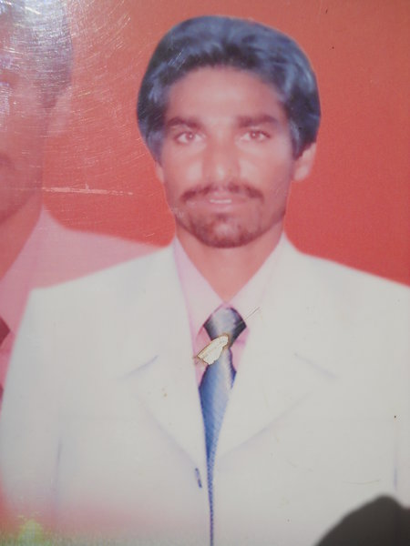 Photo of Darshan Singh, victim of extrajudicial execution between September 20, 1991 and September 21,  1991, in Raman, by Punjab Police