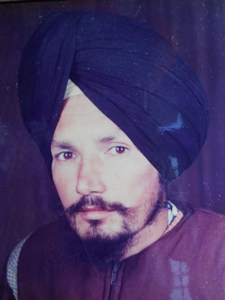 Photo of Sukhmander Singh, victim of extrajudicial execution between April 3, 1992 and April 14,  1992, in Bhagta,  by Punjab Police; Central Reserve Police ForcePunjab Police