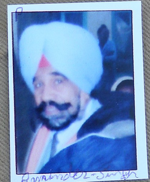 Photo of Raminder Singh,  disappeared on October 11, 1991 by Unknown type of security forces