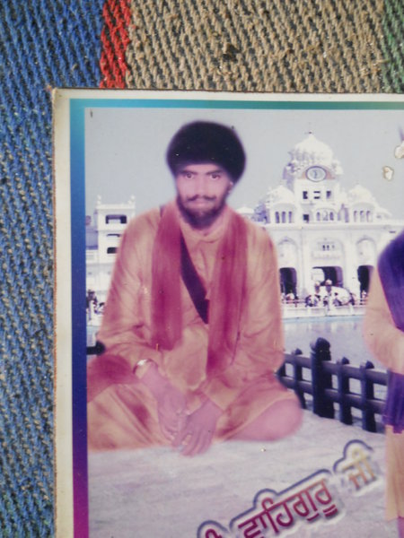 Photo of Ajmer Singh, victim of extrajudicial execution on July 29, 1992, in Raman, by Punjab Police