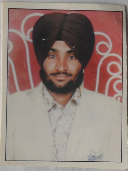 Photo of Ajaib Singh,  disappeared on March 17, 1991, in Bathinda,  by Punjab Police